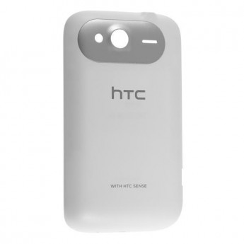 For HTC Wildfire S Battery Door Replacement (T-Mobile) ,White - Grade S+