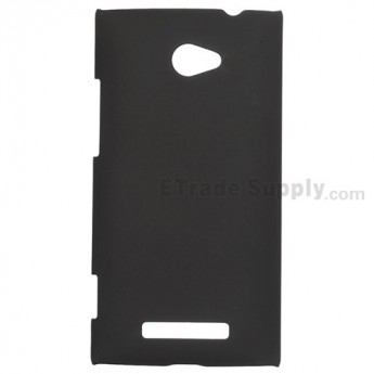For HTC 8X Protective Case - Black - Grade R