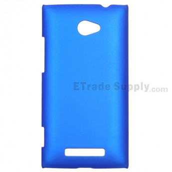 For HTC 8X Protective Case - Blue - Grade R