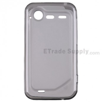 For HTC Incredible S Soft Crystal Case - Grade R