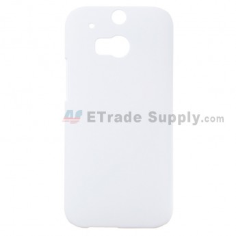 For HTC One M8 Protective Case - White - Grade R