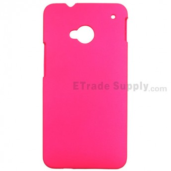 For HTC One Matte Protective Case - Red - Grade R