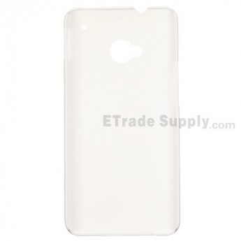 For HTC One Matte Protective Case - White - Grade R