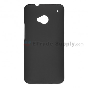 For HTC One Protective Case - Black - Grade R
