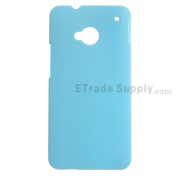 For HTC One Protective Case - Blue - Grade R