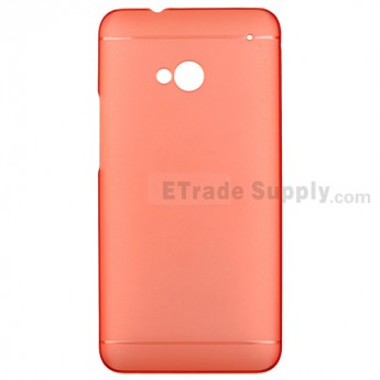 For HTC One Protective Case - Red - Grade R