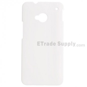For HTC One Protective Case - White-Grade R
