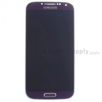 For Samsung Galaxy S4 SCH-I545/R970/L720 LCD Screen and Digitizer Assembly with Front Housing Replacement - Purple - Grade S+