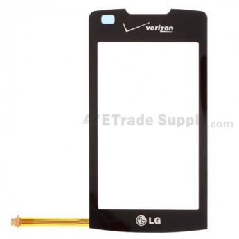 For LG enV Touch VX11000 Digitizer Touch Screen without Adhesive Replacement - Black - Grade R