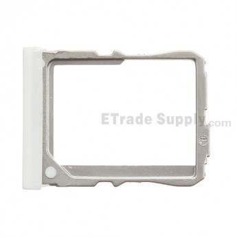 For LG G2 D802 SIM Card Tray Replacement - White - Grade R