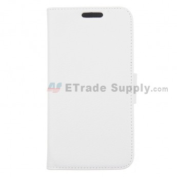 For LG Nexus 5 D820 Leather Case - White - Grade R