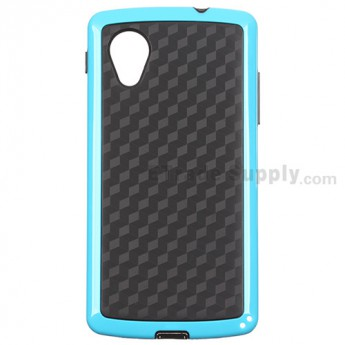 For LG Nexus 5 D820 Protective Case - Blue - Grade R
