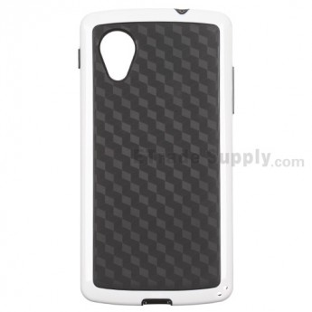 For LG Nexus 5 D820 Protective Case - White - Grade R
