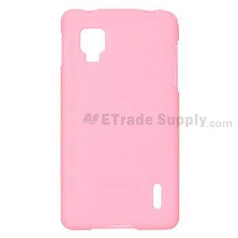 LG Optimus G E975/E971 Soft Crystal Case - Pink - Grade R