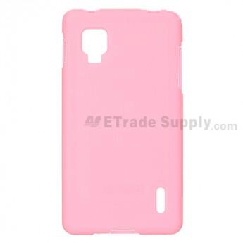 LG Optimus G E975/E971 Soft Crystal Case - Pink - Grade R
