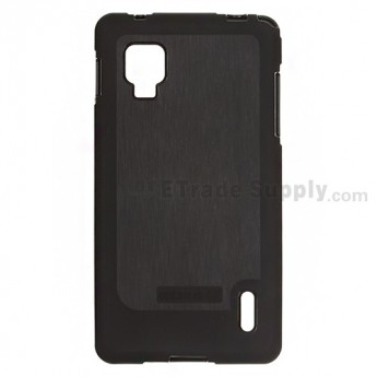 For LG Optimus G E973/LS970 Soft Crystal Case - Black - Grade R