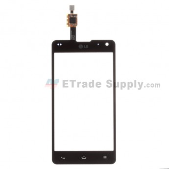 For LG Optimus G F180 Digitizer Touch Screen Replacement - Black - Grade R