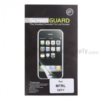 For Motorola Defy, MB525 Screen Protector - Grade R