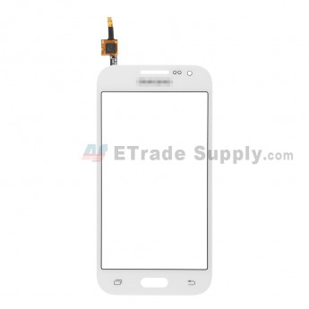 For Samsung Galaxy Core Prime SM-G360G Digitizer Touch Screen Replacement - White - With Logo - Grade S