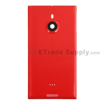 For Nokia Lumia 1520 Battery Door Replacement - Red - With Logo Only - Grade R