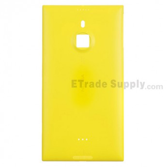 For Nokia Lumia 1520 Battery Door Replacement - Yellow - With Logo Only - Grade R