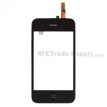 For Apple iPhone 3GS Digitizer Touch Screen Assembly Replacement - Grade S+