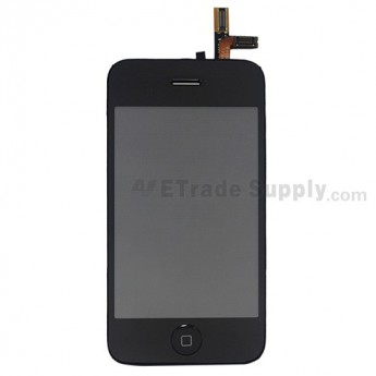 For Apple iPhone 3GS LCD Screen and Digitizer Assembly Replacement - Grade S+