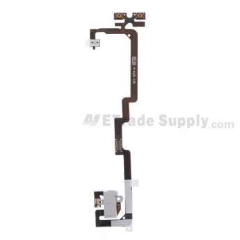 For Apple iPhone 4 Audio Flex Cable Ribbon Replacement (Verizon Wireless) - White - Grade S+