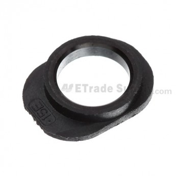 For Apple iPhone 5 Earphone Jack Cover Ring Replacement - Black - Grade S+