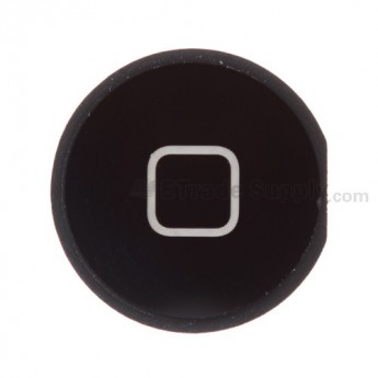 For Apple The New iPad (iPad 3) Home Button Replacement - Black - Grade S+