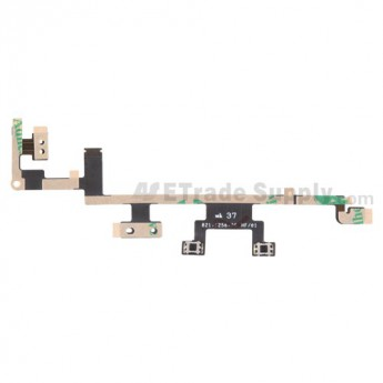 For Apple The New iPad (iPad 3) Power Button Flex Cable Ribbon  Replacement - Grade S+