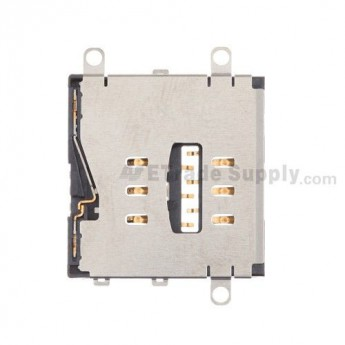 For Apple iPad 3 SIM Card Reader Contact Replacement - Grade S+