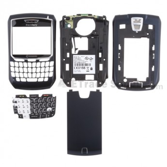 For BlackBerry 8700 Housing Replacement ,Silver - Grade S+