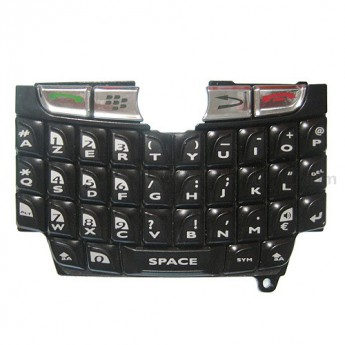 For BlackBerry 8800 AZERTY Keypad Replacement ,Black - Grade S+