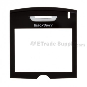 For BlackBerry 8800 Glass Lens Replacement ,Black - Grade S+