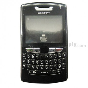 For BlackBerry 8800 Housing Replacement ,Black - Grade S+