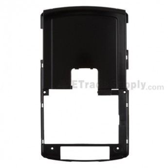 For BlackBerry 8820 Rear Housing Replacement - Black - Grade A