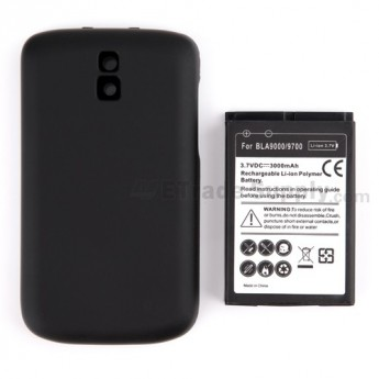 For BlackBerry Bold 9000 Battery Door and Battery Replacement (3000 mAh) - Grade S+