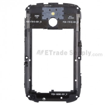 For BlackBerry Bold 9000 Rear Housing Assembly Replacement - Grade S+