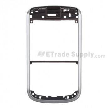 For BlackBerry Bold 9650 Front Housing Replacement ,Silver - Grade S+