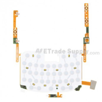 For BlackBerry Bold 9650 Keyboard Flex Cable Ribbon Replacement - Grade S+