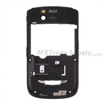 For BlackBerry Bold 9650 Rear Housing Assembly Replacement - Grade S+