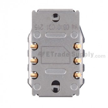 For BlackBerry Bold 9700 SIM Card Reader Contact with Bracket Replacement - Grade S+