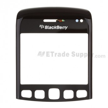 For BlackBerry Bold 9790 Digitizer Touch Panel with Lens Replacement - Black - Grade S+