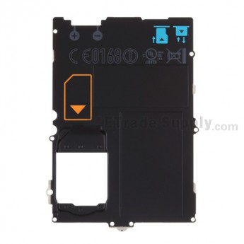 For BlackBerry Bold 9790 Rear Housing Metal Plate Replacement - Grade S+