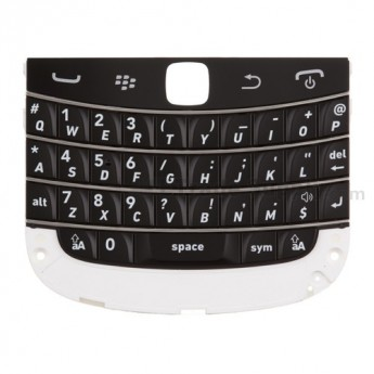 For BlackBerry Bold Touch 9900, 9930 Keyboard with Keypad Replacement ,Black - Grade S+