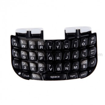 For BlackBerry Curve 3G 9300, 9330 Keypad Replacement ,Black - Grade S+