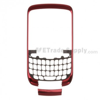 For BlackBerry Curve 3G 9300 Front Housing and Bottom Cover Replacement ,Silver - Grade S+