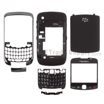 For BlackBerry Curve 3G 9330 Complete Housing Replacement ,Purple - Grade S+