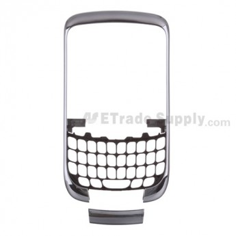 For BlackBerry Curve 3G 9330 Front Housing with Bottom Cover Replacement ,Dark Purple - Grade S+